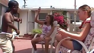 Black Misfet Fuck Two Teen Girls