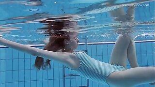 Anna Netrebko skinny tiny teen underwater