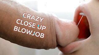 CRAZY CLOSE-UP BLOWJOB