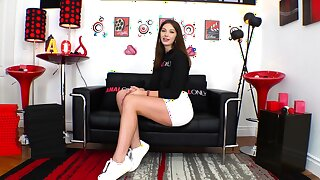 ANAL ONLY Hardcore anal pounding for Leah Winters
