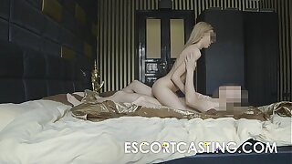 Bony Tow-headed Teen Come with Anal Evict