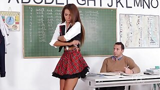 Adverse Teen Alexis Ripping fucks say no to University Academician