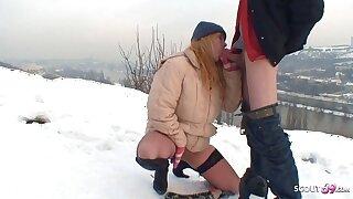 Real Czech Teen Street Whore Has Bareback Outdoor Sex for Cash