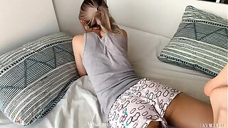 He accidentally creampied his own stepsister! - Eva Elfie